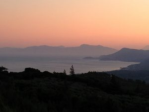 Sunset on Samos